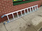 WERNER Aluminum Extension Ladder D1220-2 20' 225lb Rated